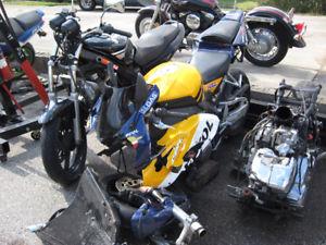 Honda Motorcycle Genuine repair Montreal honda repair montreal