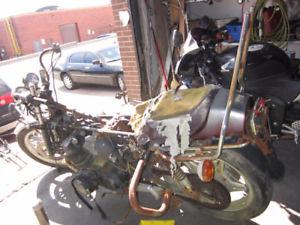 Honda Motorcycle Oem repair Montreal honda repair montreal