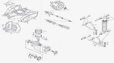 Used Honda Parts Diagram Montreal Used honda parts montreal